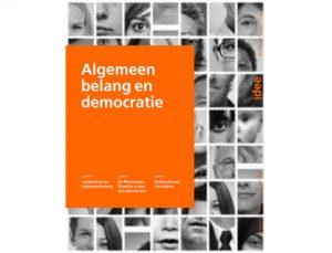 Voorpagina tijdschrift 'Idee' met als thema Algemeen belang en democratie