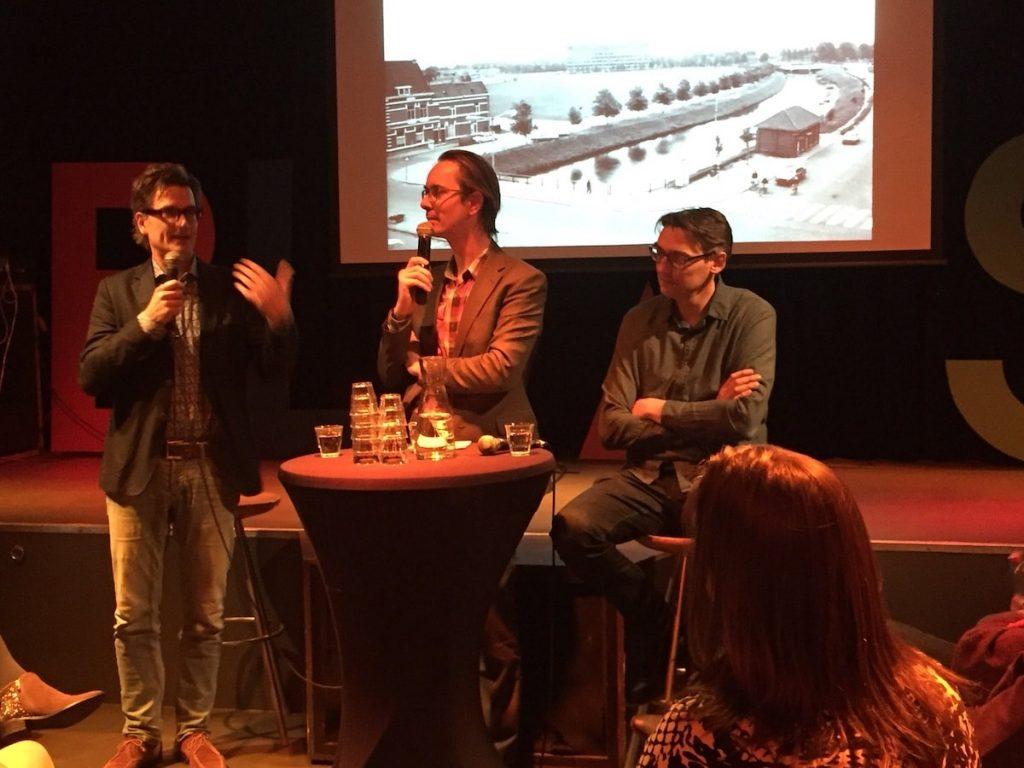 Talkshow over Het Nieuwe Ahoy